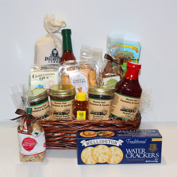 Boone Hall Lowcountry Gift Basket