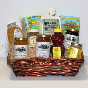 Boone Hall Tea & Honey Gift Basket